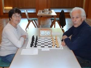 v.l. Marina Krylova und Gerhard Hund