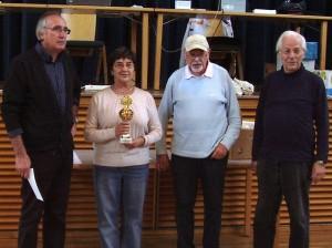 v.l . 3.Anton Slager, 1.Marina Krylova, Tl. Peter Zschorsch, 2. Gerhard Hund